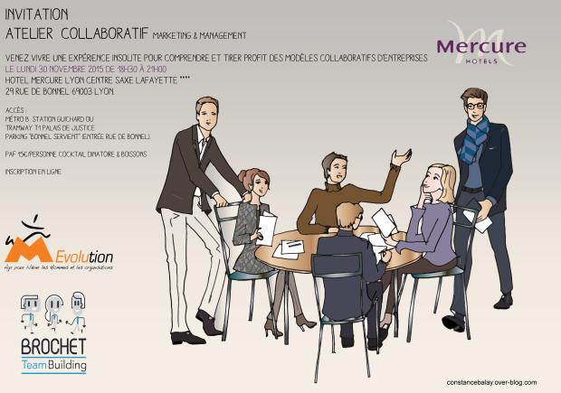 Teaser invitation Atelier collaboratif Marketing & Management